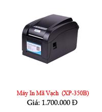 máy in mã vạch xp350B